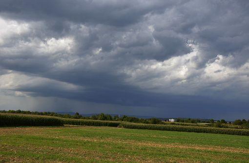 Vereinzelt Regen und Gewitter