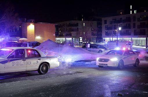 Mehrere Tote bei Terroranschlag auf Moschee in Quebec