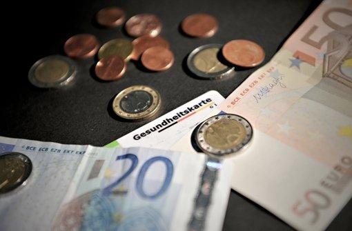 Kassenversicherte müssen im neuen Jahr mehr zahlen Foto: dpa
