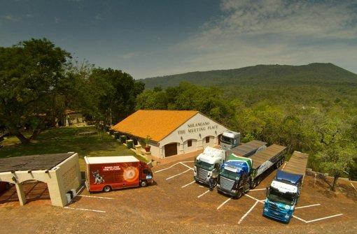 Daimler drängt mit seiner Nutzfahrzeugsparte stärker nach Afrika: Durch mehr lokale Präsenz wolle man das Potenzial der Region. Foto: Daimler