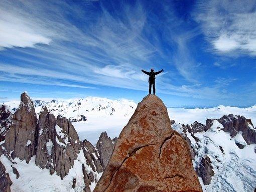 Das ganz besondere Licht der Berge hat es Alexander Huber angetan. Foto: Privat