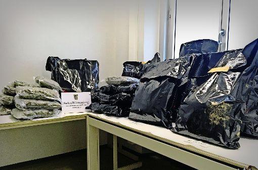 Kripo zerschlägt Stuttgarter Drogenhändlerring
