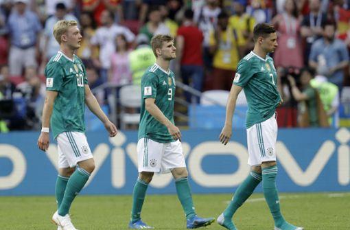 Die Tiefpunkte des deutschen Fußballs