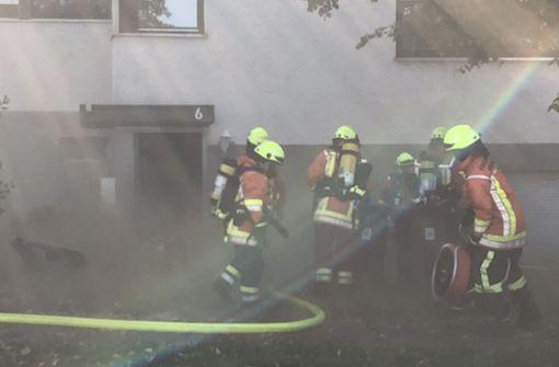 In einem Mehrfamilienhaus in Wernau hat es am Mittwochnachmittag gebrannt. Foto: SDMG