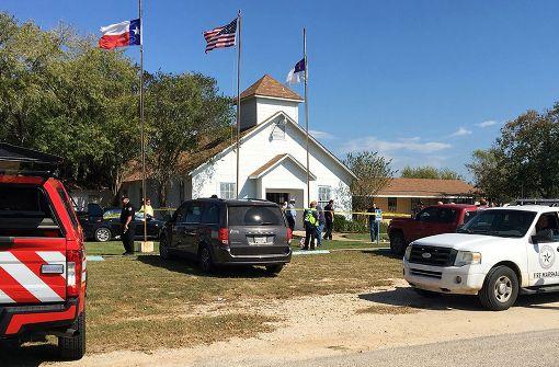 Schießerei in Kirche fordert mehr als 20 Tote