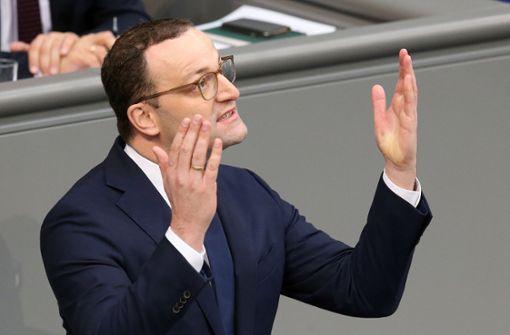 Jens Spahn erntet Kritik für seinen Vorstoß