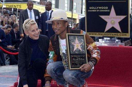 US-Star erhält Hollywood-Stern