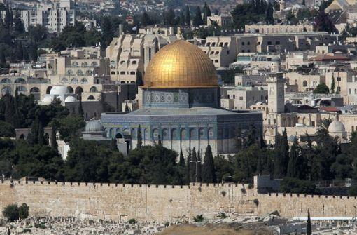In Jerusalem mögen sich Offizielle derzeit nicht zu den Boykottaufrufen gegen einen Eurovision Song Contest in Israel äußern. Foto: dpa
