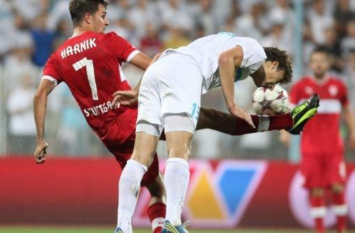 Der VfB Stuttgart verliert auch in Europa