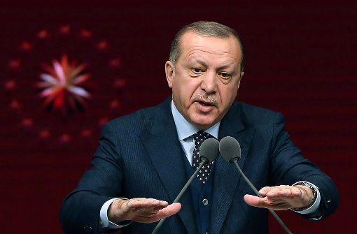 Erdogan geht gegen Trumps Entscheidung bei UN vor