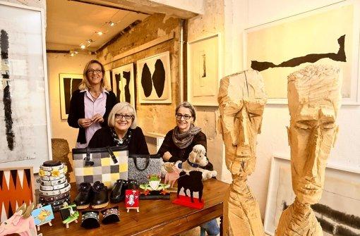 Galerie, Malschule und Geschäft zugleich