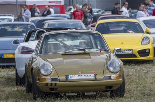 Parade der Porsche