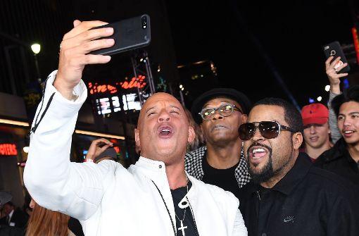 Selfie-Alarm auf dem Roten Teppich in Hollywood