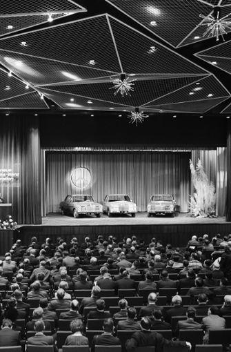 Am 9. und 10. Januar 1968 hat Mercedes-Benz die neue Modellreihe in Sindelfingen vorgestellt. Foto: Daimler AG