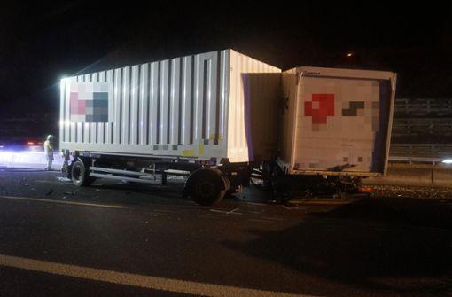Der Unfall ereignete sich gegen 3.50 Uhr zwischen Ludwigsburg-Nord und Pleidelsheim.  Foto: 7aktuell.de/Franziska Hessenauer