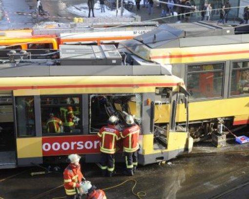 Wieder ein Straßenbahn-Unfall