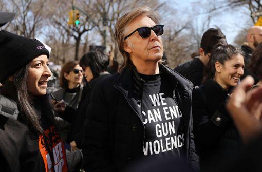 Paul McCartney ist nur einer von vielen Prominenten, die ihre Stimme in den USA erheben. Foto: GETTY IMAGES NORTH AMERICA