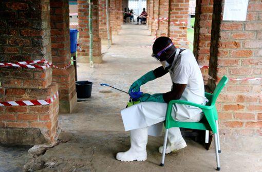 Kongo meldet elf neue Ebola-Fälle