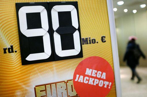 Jackpot mit 90 Millionen Euro nicht geknackt