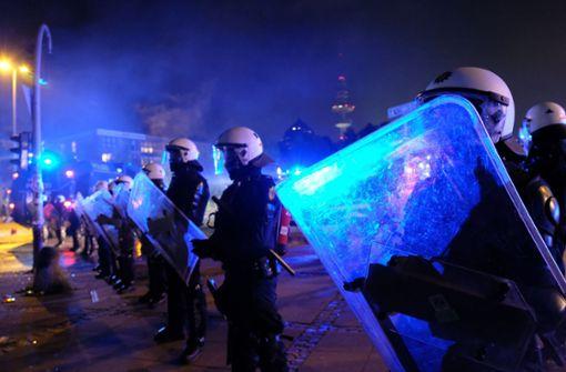 Gewalt gegen Polizisten nimmt zu