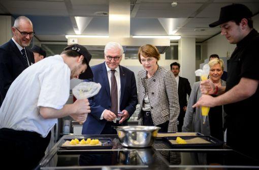 Bundespräsident besucht Ludwigsburger Berufsschule
