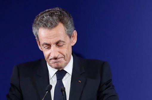 Polizei nimmt Nicolas Sarkozy in Gewahrsam