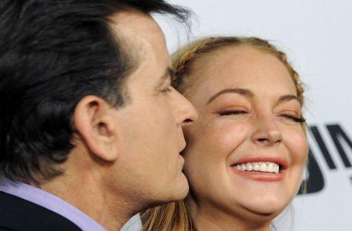 Ein Küsschen für Lindsay Lohan