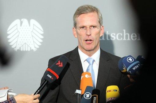Der CDU-Bundestagsabgeordnete Clemens Binninger hat vor dem NSU-Untersuchungsausschuss des Landtags Baden-Württemberg ausgesagt. Foto: dpa
