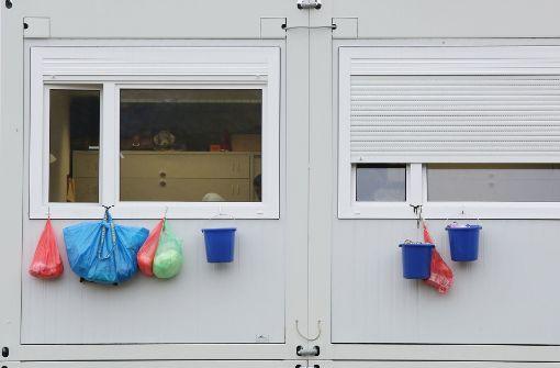 Eine Flüchtlingsunterkunft in Hamburg. Foto: dpa/Symbolbild
