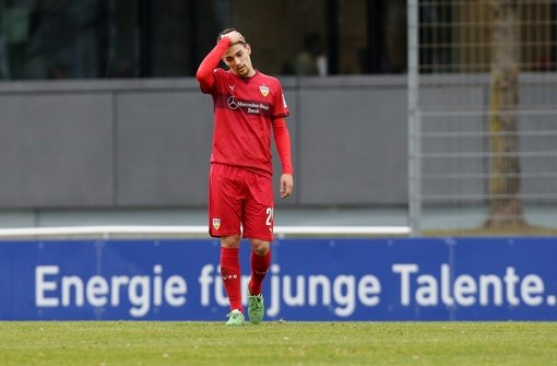 Gerade erst angekommen und schon verletzt: VfB-Neuzugang Federico Barba hat sich im Testspiel gegen Großaspach einen Muskelbündelriss zugezogen. Foto: Pressefoto Baumann