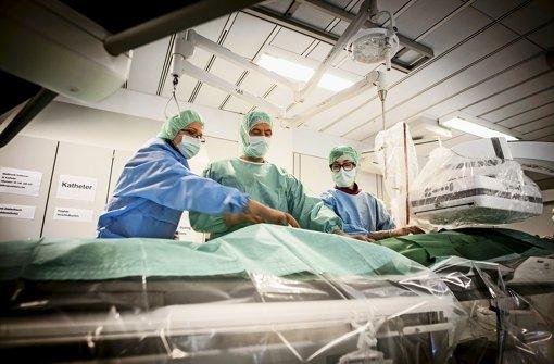 Klinikum Stuttgart verfehlt Wirtschaftsplan 2014 um sieben Millionen Euro Foto: Leif Piechowski