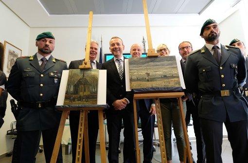 Van-Gogh-Bilder bei Drogenermittlungen entdeckt