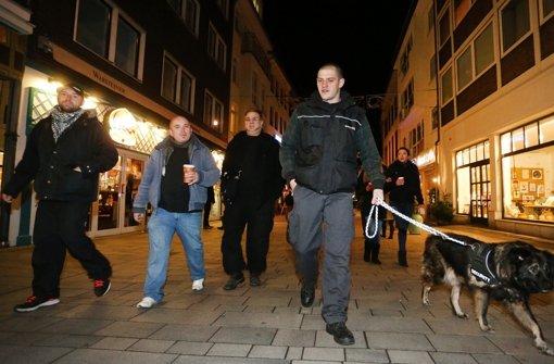 Vielleicht gibt es im Südwesten auch bald patrouillierende Bürgerwehren wie hier in Düsseldorf? Foto: dpa