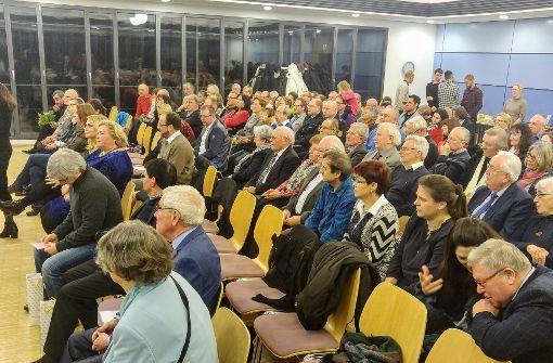 Beim Bürgerempfang in Stuttgart-Ost wurde ein Überblick über das vielfältige ehrenamtliche Engagement im Stadtbezirk gegeben. Foto: Jürgen Brand