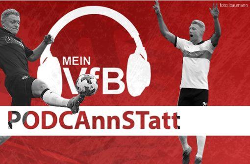 Andreas Beck vom VfB Stuttgart ist zu Gast in unserer aktuellen Podcast-Folge. Foto: StN/Baumann