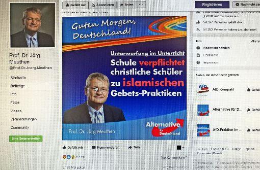 Islam im Unterricht: AfD wittert einen Skandal