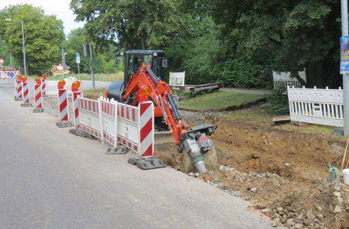 Vollsperrung in Aulendorfer Straße wird aufgehoben