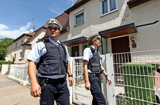 Polizisten sind präsenter auf der Straße