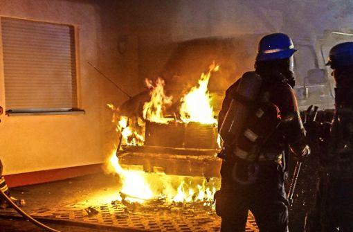 So versucht die Polizei, Feuerteufel zu überführen