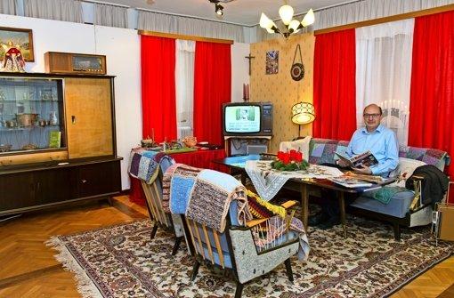 Sonderausstellung im stadtmuseum filderstadt for 70er wohnzimmer