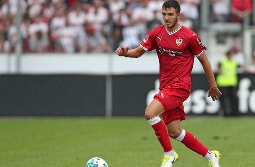 Anto Grgic vom VfB Stuttgart hat gegen Waldhof in der zweiten Mannschaft ausgeholfen. Foto: Pressefoto Baumann