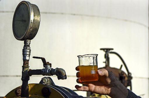 Fettberg aus Kanalisation wird in Biodiesel umgewandelt