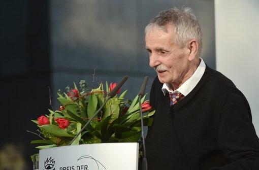 Guntram Vesper erhält Buchpreis
