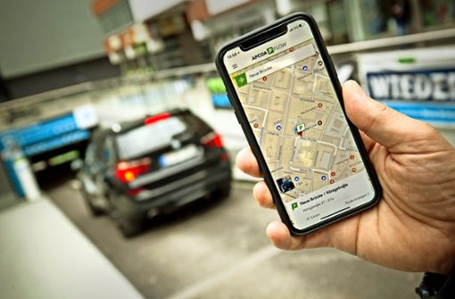 Parken In Stuttgart App Apcoa Flow Hilft Bei Der Parkplatzsuche