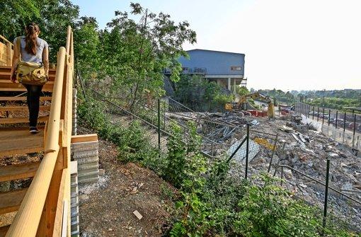 Das alte Parkhaus ist weg – das neue wird günstiger