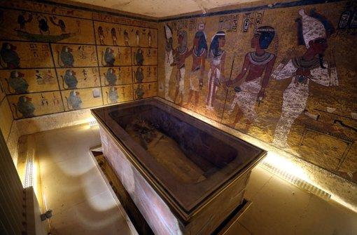 Was verbirgt die Grabkammer noch?