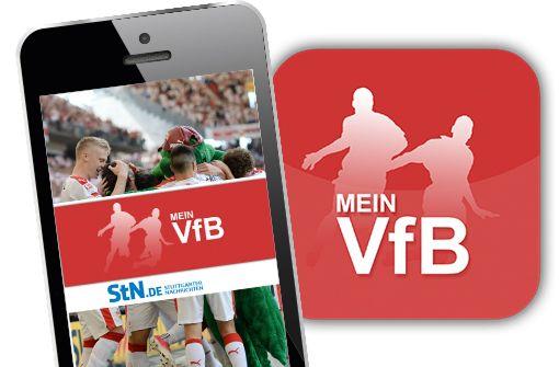 """""""MeinVfB"""" – die App für die weiß-rote Anhängerschaft"""