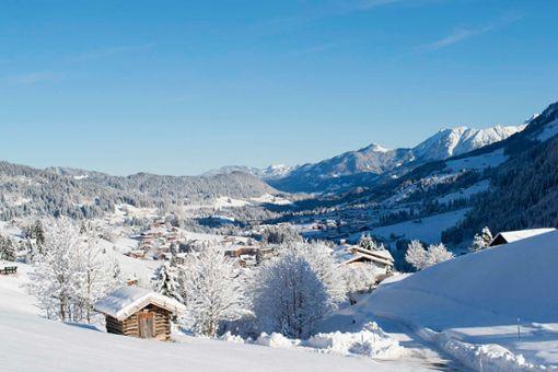 Kleinwalsertal: Eldorado für Winterwanderer und Langläufer