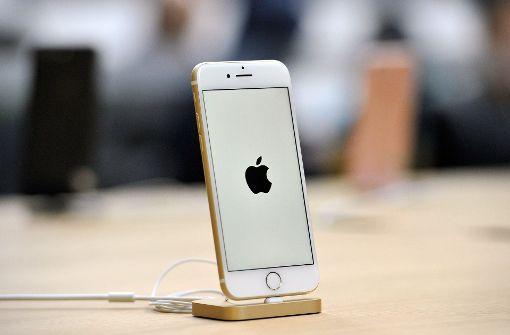 Apple-Aktie schießt durch die Decke