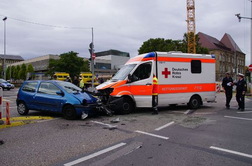 Am Mittwochvormittag ist es in Stuttgart zu einem Unfall gekommen. Foto: SDMG
